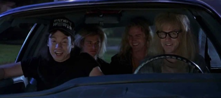 Late to the Schwing! A Review of Wayne's World