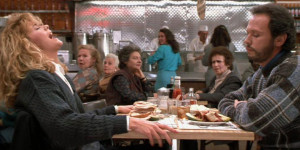 Late to the wagon wheel coffee table! A review of When Harry Met Sally